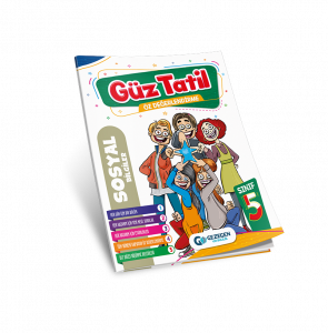 5. Sınıf  Sosyal Bilgiler Güz Tatil Kitabı