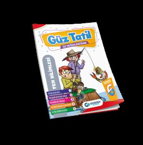 6. Sınıf Fen Bilimleri Güz Tatil Kitabı