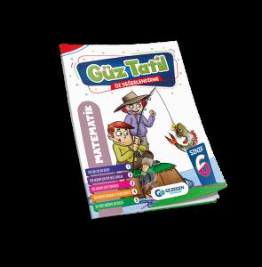 6. Sınıf Matematik Güz Tatil Kitabı