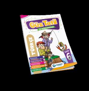 6. Sınıf Türkçe Güz Tatil Kitabı