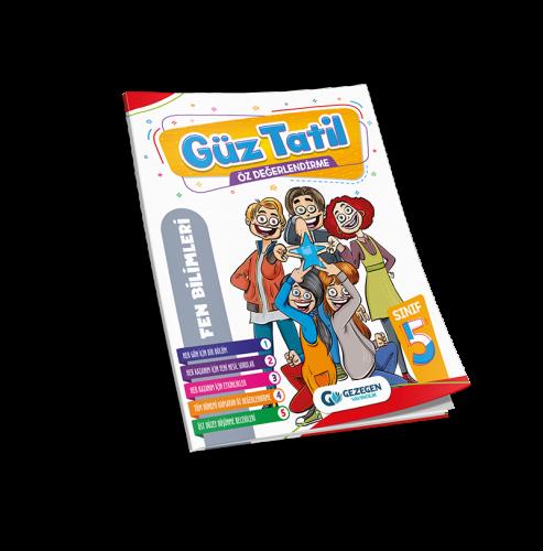 5. Sınıf  Fen Bilimleri Güz Tatil Kitabı