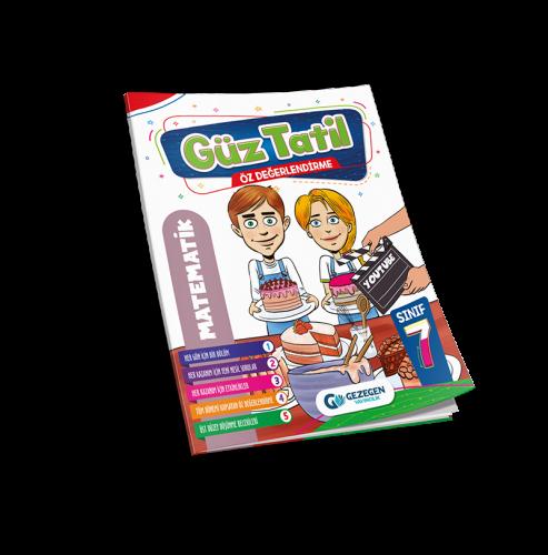 7. Sınıf  Matematik Güz Tatil Kitabı
