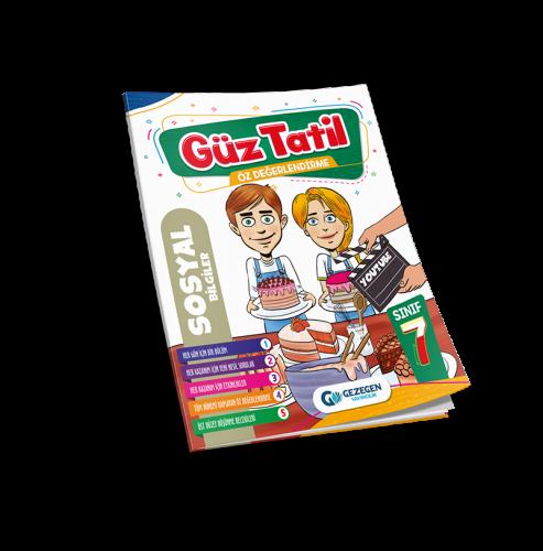 7. Sınıf Sosyal Bilgiler Güz tatil Kitabı