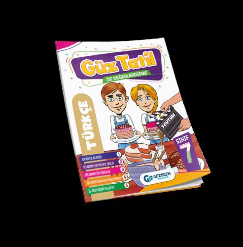 7. Sınıf Türkçe Güz Tatil Kitabı