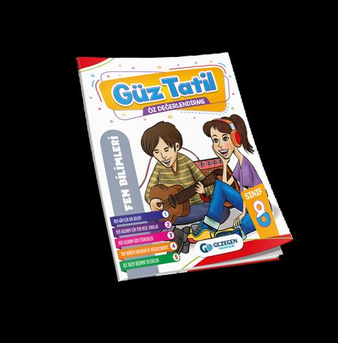 8. Sınıf Fen Bilimleri Güz Tatil Kitabı
