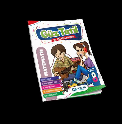 8. Sınıf Matematik Güz Tatil Kitabı