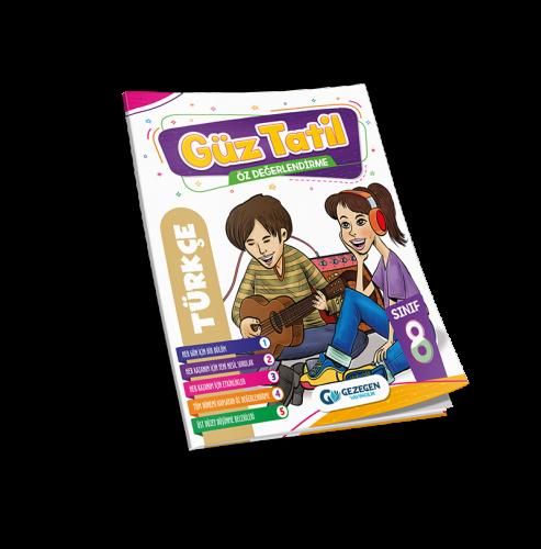 8. Sınıf Türkçe Güz Tatil Kitabı