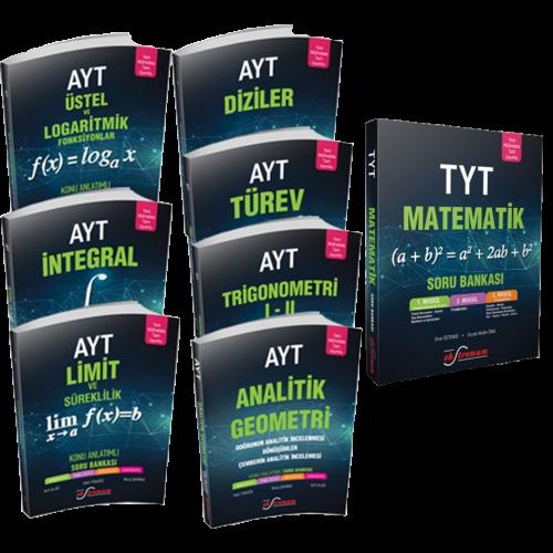 Ekstremum Ayt-Tyt Matematik Konu Anlatım Soru Bankası Seti  | Ekstremum Yayınları